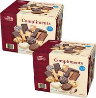 LAMBERTZ 4x 500g Compliments Gebäckmischung 2 x 2kg Office Box