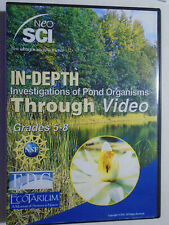 Cd Investigations of Pond Organisms Through Video education Nsf Grades 5-8