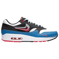 Brand New Men's Nike Air Max 1 Athletic Basketball Sneakers | Red & White