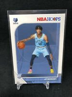 2019-20 Panini NBA Hoops Ja Morant #259 BASE RC Rookie Grizzlies L58