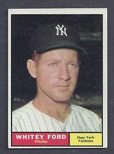 1961 Topps #160 Whitey Ford New York Yankees EX-MT Plus