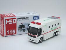 Japan Tokyo Super Ambulance ISUZU GIGA No.116 Tomica Tomy