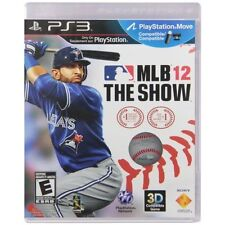 MLB 12 The Show For PlayStation 3 PS3 Baseball Very Good 7E