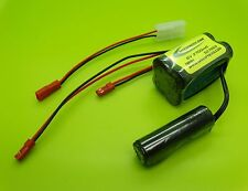 SANYO 6V 2700ma BATTERY + PEAK DETECTION CHARGER CHARGER 4 HPI SAVAGE
