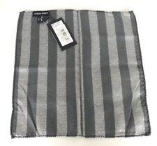 Giorgio Armani Fazzoletto da Taschino 100% silk breast pocket handkerchief 33X33