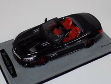 1/18 GT Spirit Mercedes Benz SL 63 AMG Obsidian Black Red wheels GT117 custom