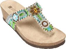 1f64d4a3254e0b White Mountain Women s Slip On Sandals and Flip Flops