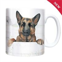 German Shepherd Dog Mug - Ceramic - Great Gift for an Alsatian Lover - Boxed