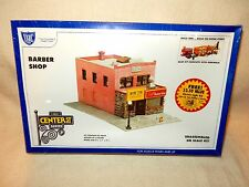 IHC #7771 BARBER SHOP WITH ELECTRIC LIGHT KIT-HO SCALE-STILL SEALED IN PLASTIC!-