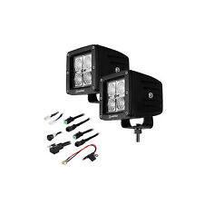 "Heise HE-CL22PK 3"" 4 LED Cube 90 Degree Flood Lights Kit (Pair)"