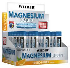 Weider Body Shaper Magnesium Liquid Display 20x25ml - Exotic-orange