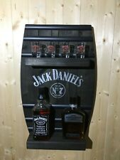 Jack Daniels Barrel Wall Shelf ,pub Bar Man Cave Gift Whisky xmas secret santa