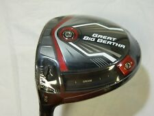 New LH Callaway Great Big Bertha 9* Driver Kuro Kage 50g Stiff flex Graphite GBB