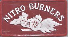Car plaques tail draggers  NITRO  Ford/Mercury/Chrysler Dodge