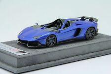 1/43 Looksmart Lamborghini Aventador J Monterery Blue Free Shipping/ MR BBR