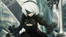 POSTER NIER: AUTOMATA NIER ANDROID YORHA 2B 9S A2 ROBOT GAME GIOCO PS4 FOTO #24