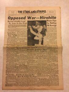 Stars and Stripes Newspaper Sep 26 1945 Shirley Temple Marries Sgt John Agar