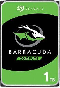 "HDD 1TB  DISCO DURO INTERNO SEAGATE BARRACUDA 3.5"" 7200RPM ORDENADOR SOBREMESA"