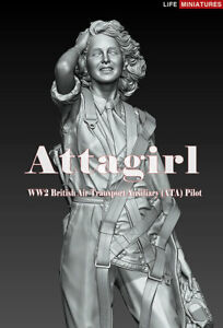 Life Miniatures, 1/35th Scale, Attagirl, WWII British ATA,  Kit LM-32001, NIB