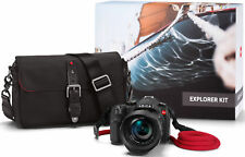 Leica V-Lux Typ 114 Explorer Kit w/ONA Bowery Bag & Red COOPH Leica Rope (Black)