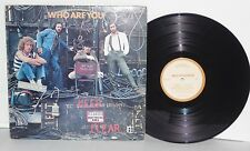 THE WHO Who Are You LP 1978 MCA Records Pressing Sterling Classic Rock Vinyl