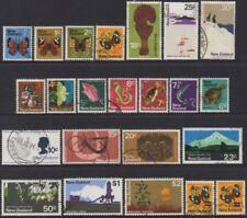 Decimal Used Postage New Zealand Stamps