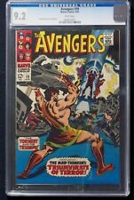 Avengers #39 CGC 9.2  1st apperance Fearsome Mares of Diomedes