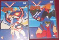 DVD ANIME/MANGA ROBOT GO NAGAI-GROIZER X 1,2 groyzer,astro,mazinga,gaiking,jetta