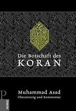 Die Botschaft des Koran- Muhammad Asad Islam Koran Takschita