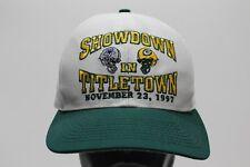 SHOWDOWN IN TITLETOWN - 11/23/97 - PACKERS/COWBOYS - RETRO SNAPBACK BALL CAP HAT