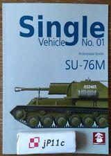 SU-76M - Single Vehicle No. 01 - MMPBooks