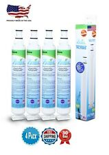 (4-PACK) Zuma Refrigerator Water Filter For Whirlpool 4396701 KitchenAid 4396702