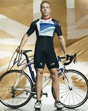 CHRIS HOY - Signed 10x8 Photograph - SPORT - CYCLING