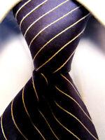 Mens Tommy Hilfiger Blue Striped Silk Tie A3392