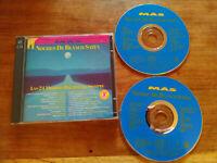 Noches de Blanco Saten - 2 x CD 24 Baladas Santana Queen OMD Joe Cocker 1992