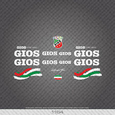 01164 Gios Bicycle Stickers - Decals - Transfers