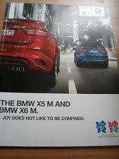 BMW X5M & X6M range brochure 2011 ed 2 full brochure