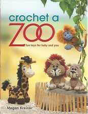 Crochet a Zoo Cute Baby Animal Toys Crochet Instruction Pattern Book NEW 2013