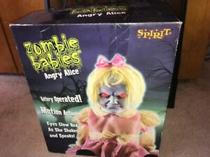 ~~ VERY RARE ~ 2010 Seasonal Visions ~ ANGRY ALICE with Original BOX ~~ Read ~~