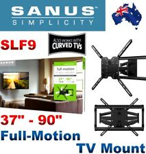 """SANUS Simplicity SLF9-B2 Full-Motion Tilt & Swivel TV Wall Mount """"37-90"""" Bracket"""