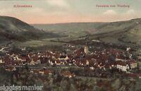 Künzelsau AK 1907 Panorama vom Wartberg Baden-Württemberg 1607034