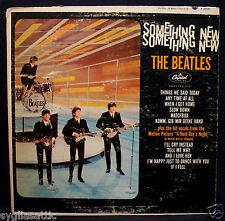 THE BEATLES-SOMETHING NEW-CAPITOL #T-2108 Mono-Lennon-McCartney-Britpop