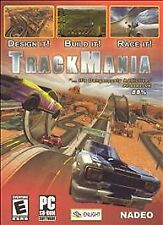 Video Game PC TrackMania Track Mania Original Jewel Case Version NEW SEALED