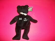 SALVINOS BAMMERS BLACK/WHITE TUXEDO BEAR - WOOD