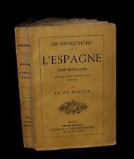 [ESPANA] MAZADE (Charles de) -  Les Révolutions de l'Espagne contemporaine. 1869