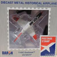 MODERN ERA US NAVY T-45C GOSHAWK DARON 1:100 SCALE DIECAST DISPLAY MODEL