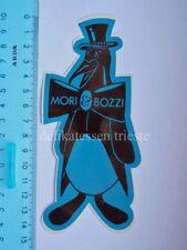 ADESIVO sticker original vintage MORI & BOZZI scarpe shoes Venezia