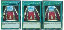 3x Walhalla Halle Der Gefallenen SR05-DE029, Common, Mint, Deutsch, Playset