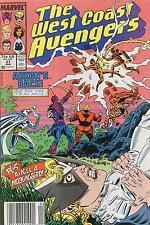 WEST COAST AVENGERS # 31 - COMIC - 1988 -  9