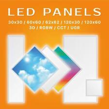 LED Panel 30x30 62x62 120x20 120x30 120x60 Ecolicht Deckenbeleuchtung Halterung
